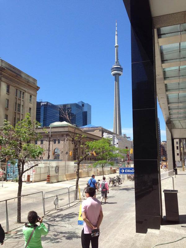 加拿大院校考察行之出行,温哥华街景