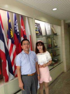 山野日本语学校访问